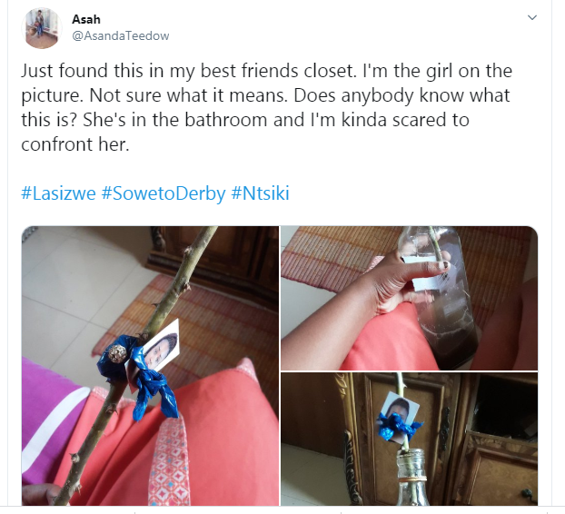Lady Stumbles Upon Picture Of Herself In A 'Voodoo Bottle' In Her Best Friend's Closet [Photos] 3