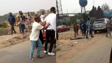 Angry Man Punches Taxi Driver To Death For Hiting His Lexus Jeep In Imo State [Photos] 5