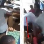 Nigerian Teacher Flogs Female Student Mercilessly Over Her Inability To 'Read Properly' [Video] 7