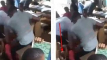 Nigerian Teacher Flogs Female Student Mercilessly Over Her Inability To 'Read Properly' [Video] 5