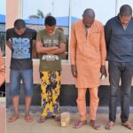 Suspected Internet Fraudster Caught With Mini Coffin As EFCC Arrests 6 'Yahoo Boys' In Ibadan 27
