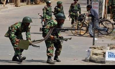 Residents Flee As Nigerian Army Exchanges Fire With Boko Haram In Damboa, Borno State 1