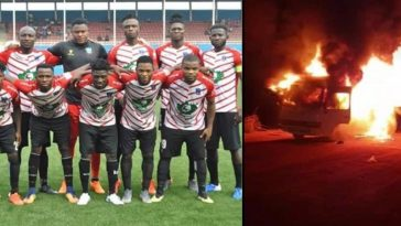 Lobi Stars Suffer Severe Injuries As Their Bus Goes Up In Flame After Football Match In Kwara [Video] 7