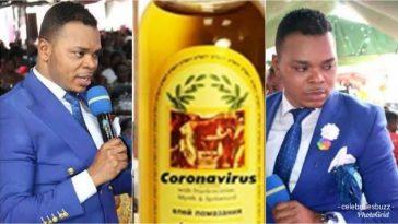 Bishop Daniel Obinim Sells 'Coronavirus Anointing Oil' To His Church Members For N13,000 1