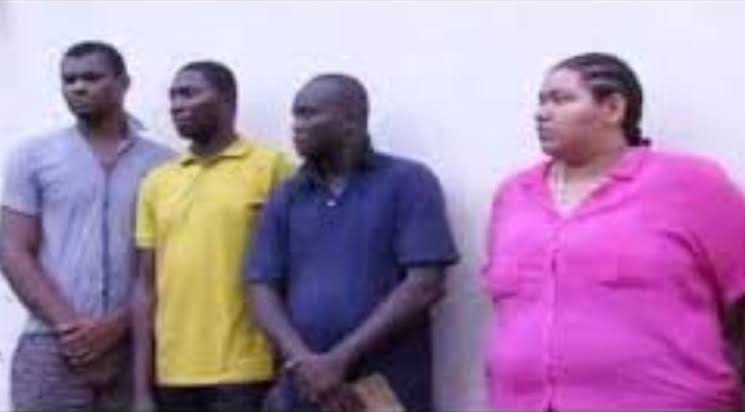 Lagos Police Arrests 7-Man Robbery Gang Led By Indian Lady Who Fortified Herself With Charms 2