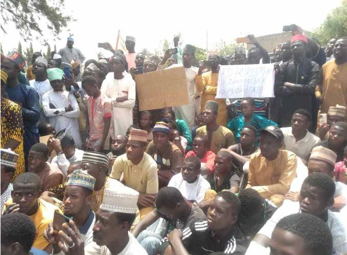 Northern Youths Protests Over A Blasphemous Song Against Prophet Muhammad In Kano State 1