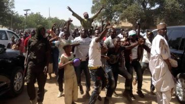 Northern Youths Protests Over A Blasphemous Song Against Prophet Muhammad In Kano State 7