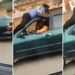 Nigerian Police Officer Lays On The Roof Of A Speeding Car In Attempt To Stop The Driver [Video] 27