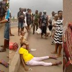 Confusion As Pregnant Lady Is Dropped By The Roadside With Money Inside Her Handbag [Photos] 28
