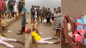 Confusion As Pregnant Lady Is Dropped By The Roadside With Money Inside Her Handbag [Photos] 11