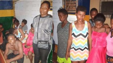 Police Bursts Baby Factory In Ogun Where Able-Bodied Men Are Hired To Impregnate Young Ladies 3
