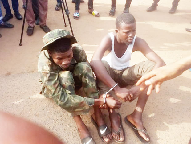 21-Year-Old Fake Soldier Arrested For Raping 17-Year-Old Girl, And Stealing Her Phone In Oyo 1