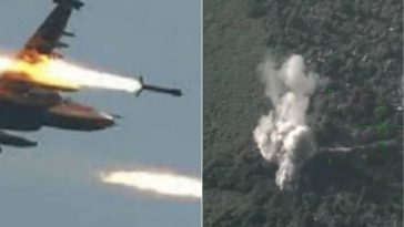 Nigerian Air Force Rain Bombs And Rockets On Boko Haram Terrorists In Sambisa Forest [Video] 2