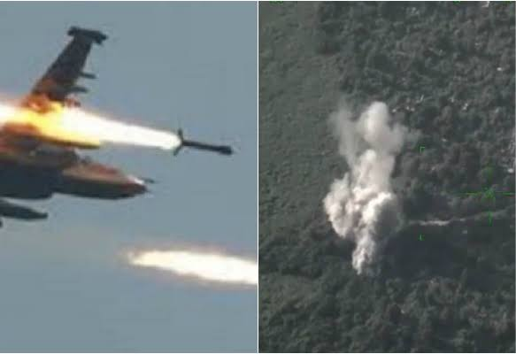 Nigerian Air Force Rain Bombs And Rockets On Boko Haram Terrorists In Sambisa Forest [Video] 1
