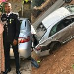 Nigerian Police Officer And His Mum Comes Out Unhurt After Their Car Sommersaulted 3 Times 6