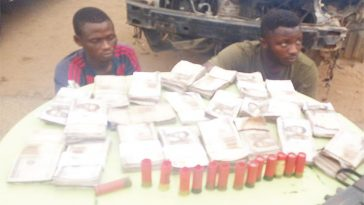 Police Recover N2 Million After Arresting Two Armed Robber During Gunfire Exchange In Oyo 6