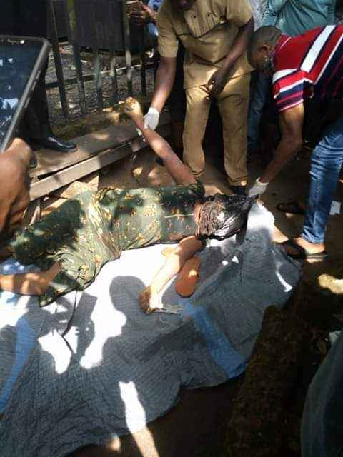 Lady Killed, Body Stacked In A Bag And Dumped On Road By Suspected Ritualists In Abia [Photos] 3