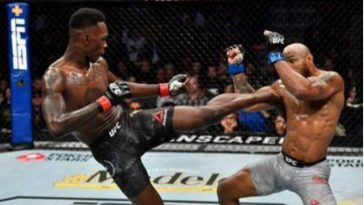Nigeria's Israel Adesanya Defeats Yoel Romero To Retain UFC Middleweight Belt [Video] 3