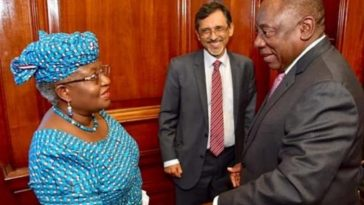 Okonjo-Iweala Appointed As Member Of Economic Advisory Council In South Africa 7