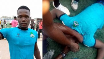 Nigerian Defender, Chineme Martins Slumps And Dies During Football Match In Katsina [Photos] 7
