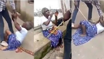 Young Man Flogs His Grandmother Over Alleged Claims By His Pastor That She Is A Witch [Video] 3