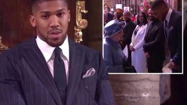 """I Am Proudly Nigerian And British"" -  Anthony Joshua Gives Power Speech About His Heritage [Video] 1"