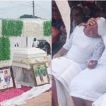 Couple Burried Amidst Tears After Being Killed In The Presence Of Their 3 Children In Umahia [Photos] 29