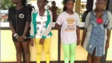 Police Arrests 4 Female Students With Bags Of Used Condoms Containing Sperm In Akwa Ibom 6