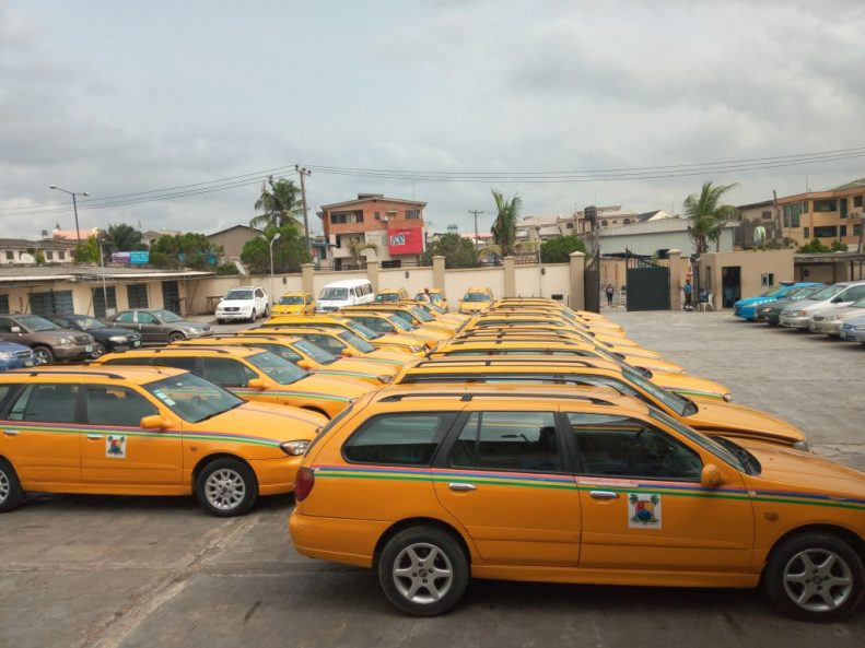 Eko cab Lagos: Lagos State Government partners with Ekocab to launch ride hailing platform for yellow cabs 1