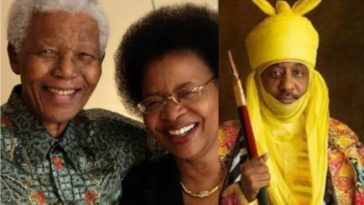 Nelson Mandela's Wife Expresses Sadness Over Dethronement Of Sanusi As Emir Of Kano 8