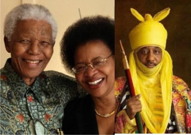 Nelson Mandela's Wife Expresses Sadness Over Dethronement Of Sanusi As Emir Of Kano 1