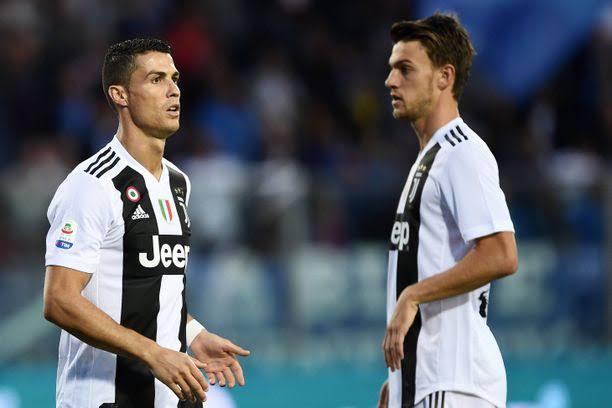 Juventus Defender, Daniele Rugani Test Positive For Coronavirus As Ronaldo Escape To Madeira 1