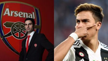 Arsenal Manager, Mikel Arteta And Juventus Player, Paulo Dybala, Test Positive For Coronavirus 6