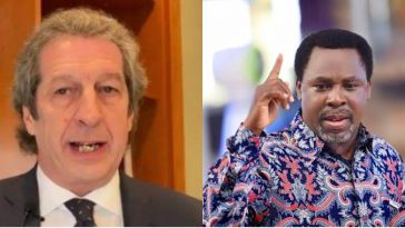 Italian Medical Chief Dies Of Coronavirus As Prophet TB Joshua Reveals When The Virus Will End 3