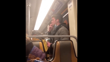 Coronavirus: Viral video of man spreading his saliva on Brussels Metro 3