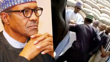 Man Attacks Buhari