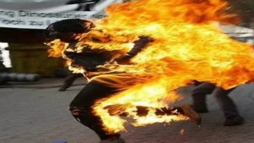 Young Woman, Dinatu Gadi Commits Suicide By Setting Herself Ablaze In Plateau State 3