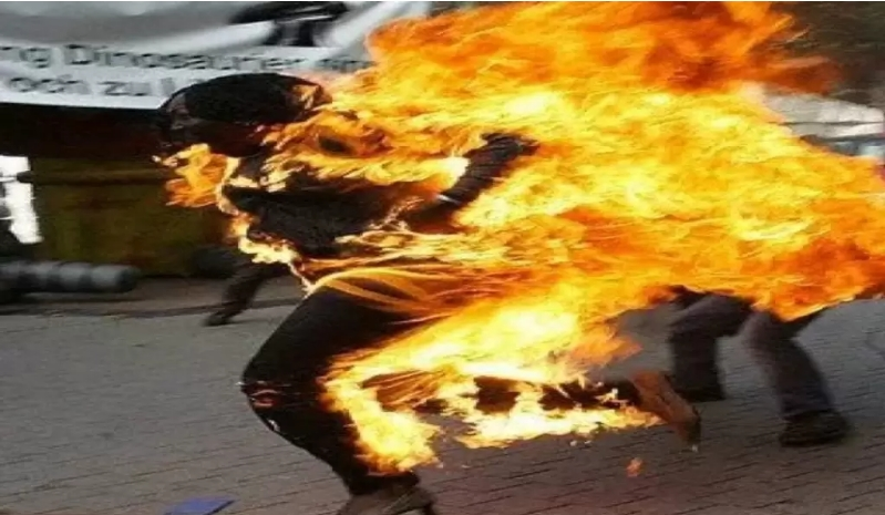 Young Woman, Dinatu Gadi Commits Suicide By Setting Herself Ablaze In Plateau State 1