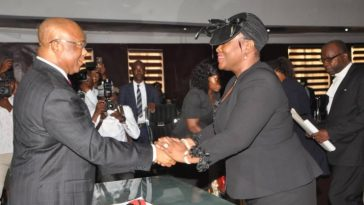 Governor Uzodinma Swears In Justice Ijeoma Agugua As First Female Chief Judge In Imo State 15