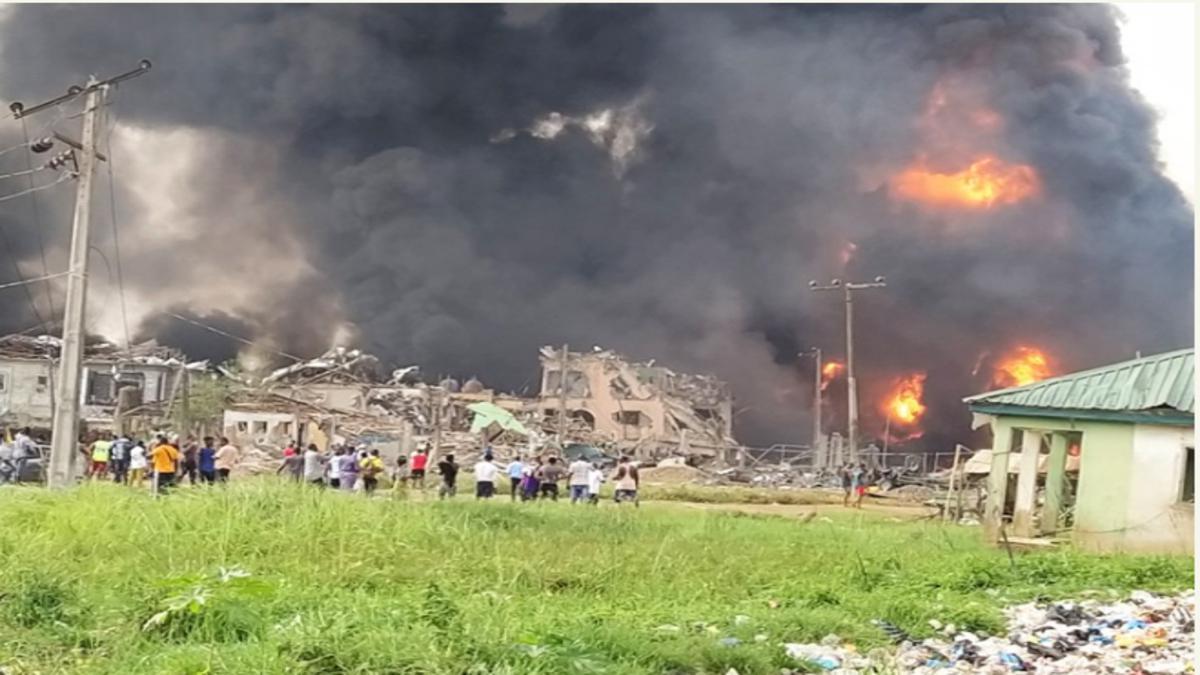 Lagos Explosion Caused By Factory In Abule Ado, Not Oil Pipeline Vandalism — NEMA 1