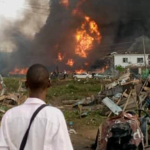Lagos Explosion Occurred When A Truck Hit Some Gas Cylinders In Abule Ado - NNPC 30
