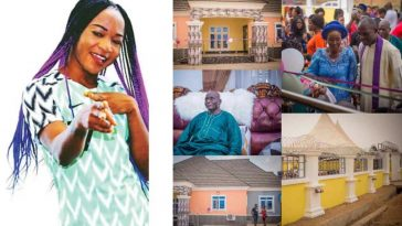"""""""Now I Can Marry In Peace"""" - Francisca Ordega Says After Gifting A New House To Her Mum [Photos] 2"""