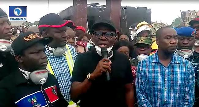 Lagos Governor, Sanwo-Olu Sets Up N2 Billion Relief Fund For Victims Of Abule-Ado Explosion 1