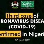 30-Year-Old Female UK Returnee Confirmed As Third Case Of Coronavirus In Nigeria 30