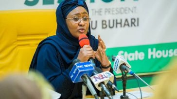 Coronavirus: Aisha Buhari Shuts Down Aso Rock Office As Daughter Goes Into Self-Isolation After UK Return 3