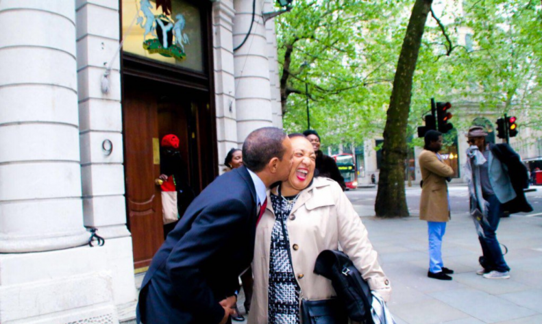 Ben Bruce buries wife Evelyn Murray Bruce - PHOTOS 1