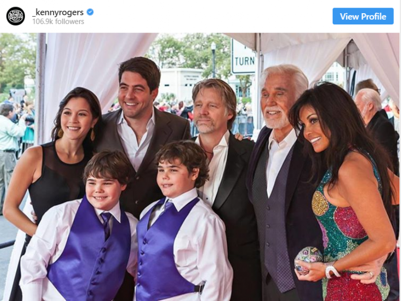 Kenny Rogers Children: 5 Facts You need to know 2