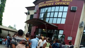 Coronavirus: Pandemonium As Chinese Woman Falls, Starts Vomiting At Immigration Office In Lagos 3