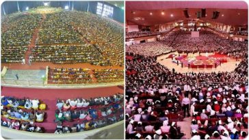 Coronavirus: Two Popular Nigerian Churches Hold Sunday Service Despite Ban On Religious Gatherings 5
