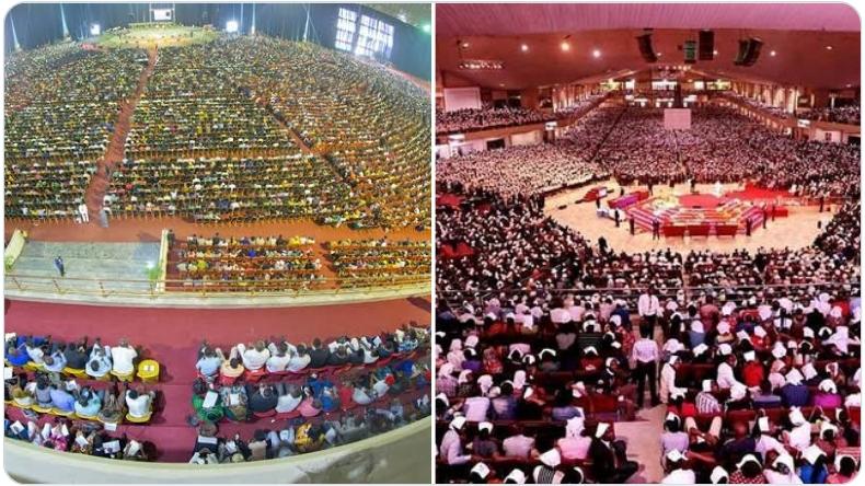 Coronavirus: Two Popular Nigerian Churches Hold Sunday Service Despite Ban On Religious Gatherings 1